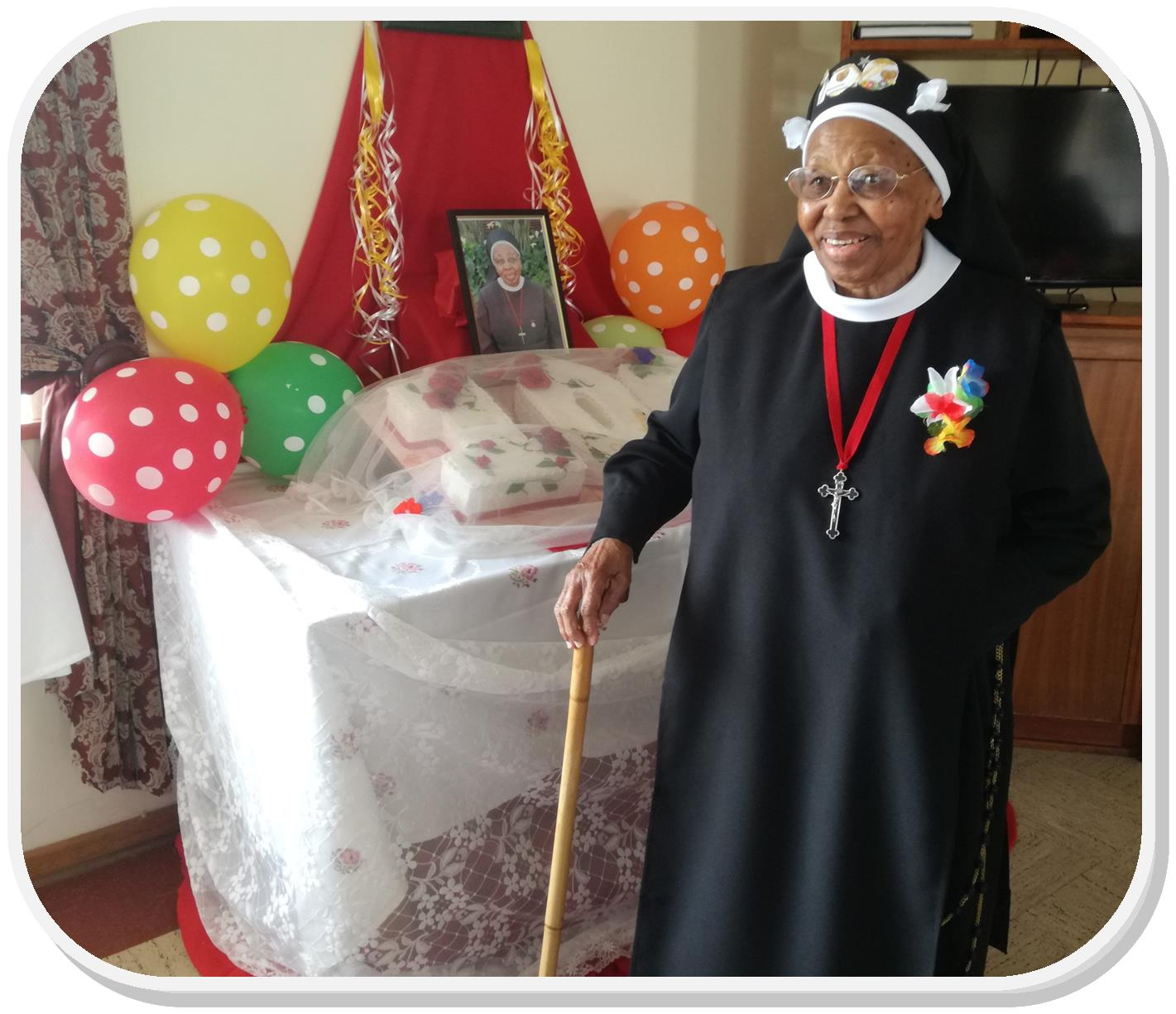 sr bernadette 100th bday